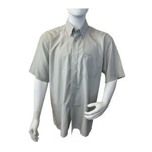 Hardy Amies Casual London Button Down Shirt Sz XL